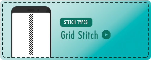 Grid Stitch Badge