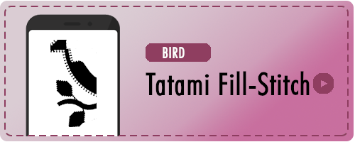 Bird Tatami Badge