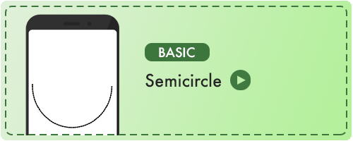 Semicircle Badge