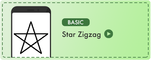 Star Zigzag Badge