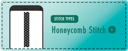Honeycomb Stitch Badge