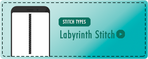Labyrinth Stitch Badge