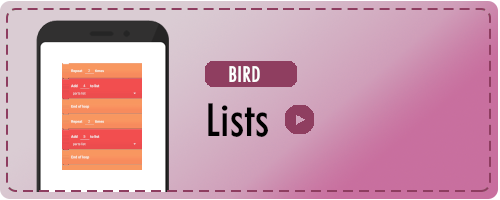 Bird Lists Badge
