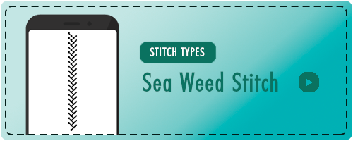 Sea Weed Stitch Badge