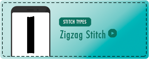 Zigzag Stitch Badge